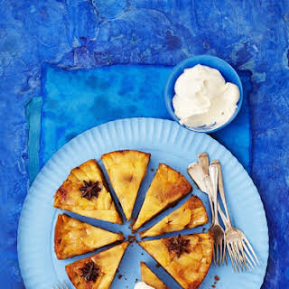 Upside-down Apple and Star Anise Cake.