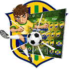 Brazil Football Keyboard icon