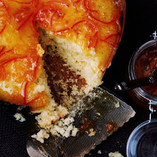Olive Oil Cake with Tangerine Marmalade.