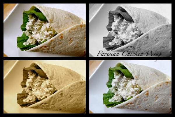 Parisian Chicken Wrap Recipe