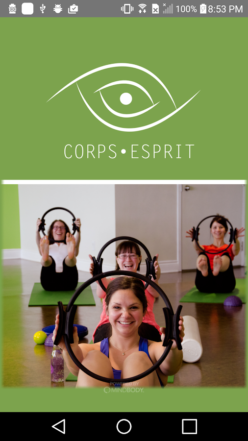 Corps-Esprit- screenshot