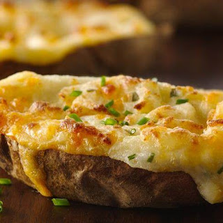 Twice Baked Potatoes.