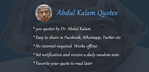 Abdul Kalam Quotes In English Apps On Google Play
