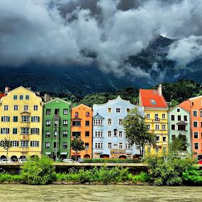 Innsbruck by Francis Xavier Camilleri - City,  Street & Park  Skylines