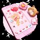 Pink Bear Love Heart Theme (app)