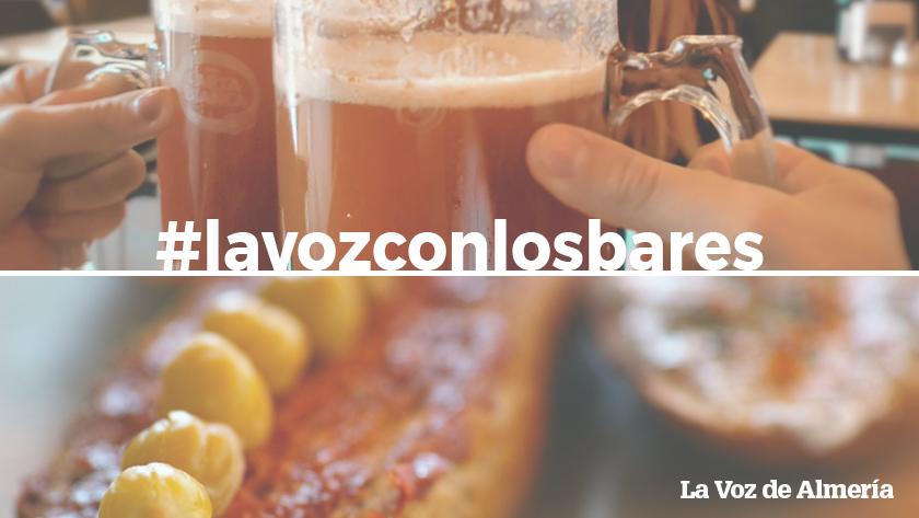 La Voz de Almería se vuelca con los bares.