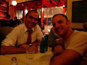 Photo: Sao Paulo - Gustavo and Stephen