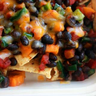 Sweet Potato & Black Bean Nachos