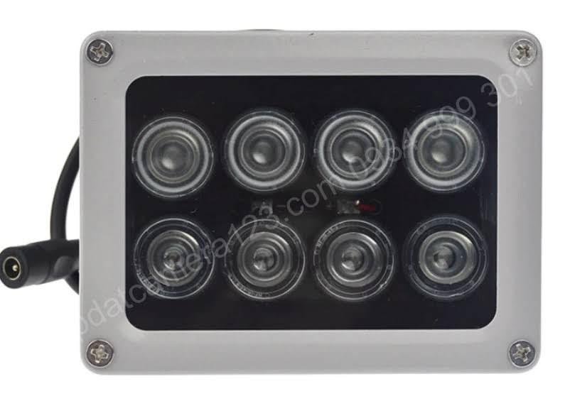 Đèn hồng ngoại hỗ trợ camera nhìn đêm 8 led array Đèn hồng ngoại hỗ trợ camera nhìn đêm 8 led array