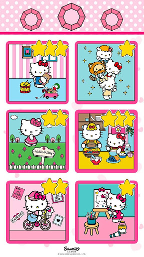 Color by Number with Hello Kitty apktram screenshots 6