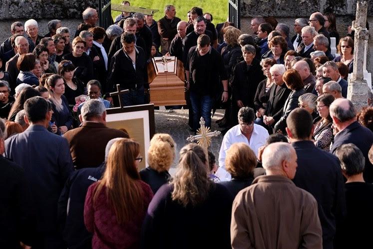 Adeus a vítimas da tragédia em Lamego junta famílias