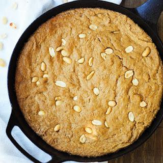 Skillet Peanut Butter Cinnamon Spice Cookie.
