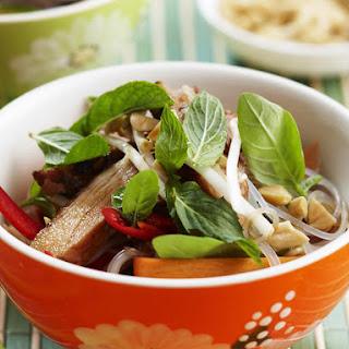 Thai Chicken Noodle Salad.