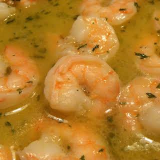Red Lobster Shrimp Scampi Pasta.