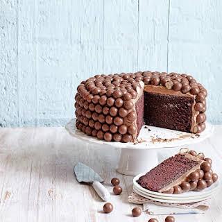 Maltesers Chocolate Chiffon Cake.