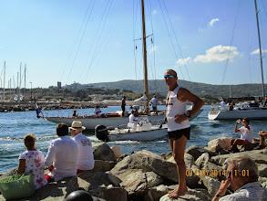 Photo: Jeudi 2 octobre, Thierry, le chef-rando RCA, organisait la presque traditionnelle randonnées des Voiles de St. Tropez, à l'occasion de l'évènement du même nom !