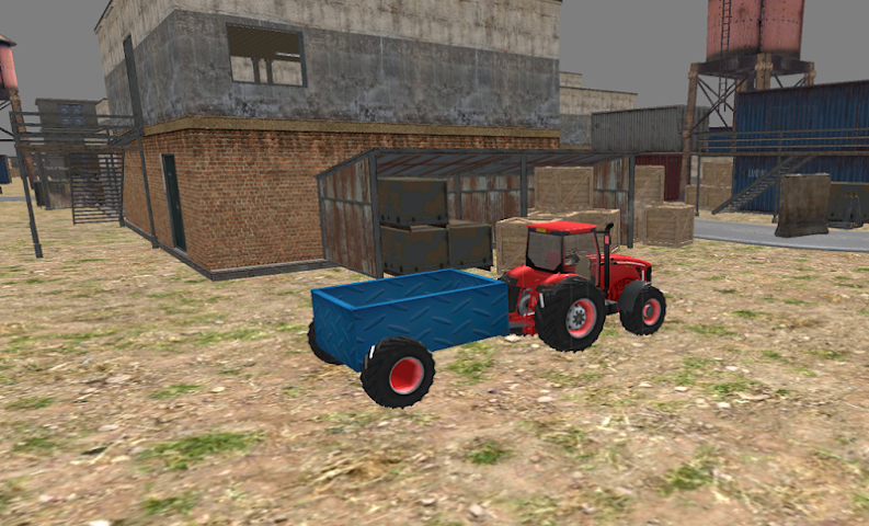 android Industrial Simulator Tractor Screenshot 3