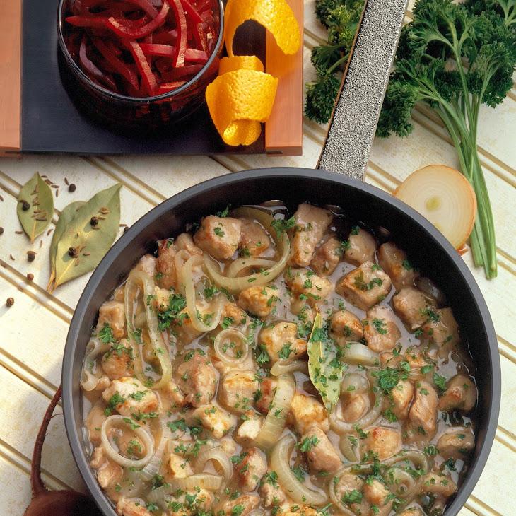 Milwaukee Pork Stew Recipe