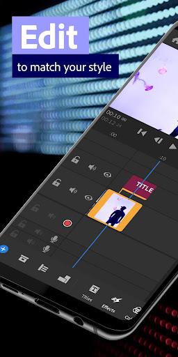 Adobe Premiere Rush u2014 Video Editor 1.5.20.571 screenshots 2