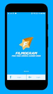 Filmogram - Best way to find your cinema career - náhled