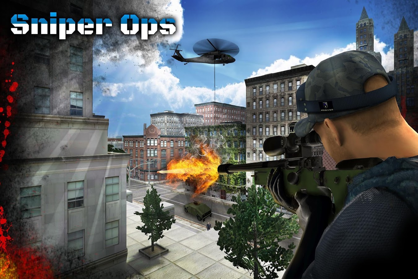 Sniper ops 3d shooting game android apps on google play