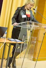 Photo: Florence Cotin, directrice Développement social et solidarités, GDF SUEZ- Photo Olivier Ezratty