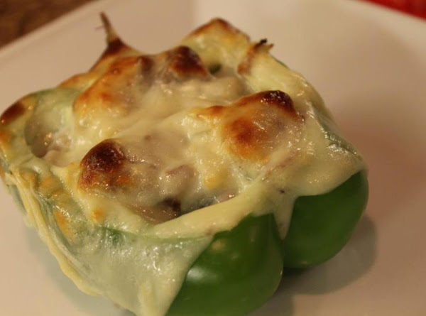 Philly Cheesesteak Peppers Recipe