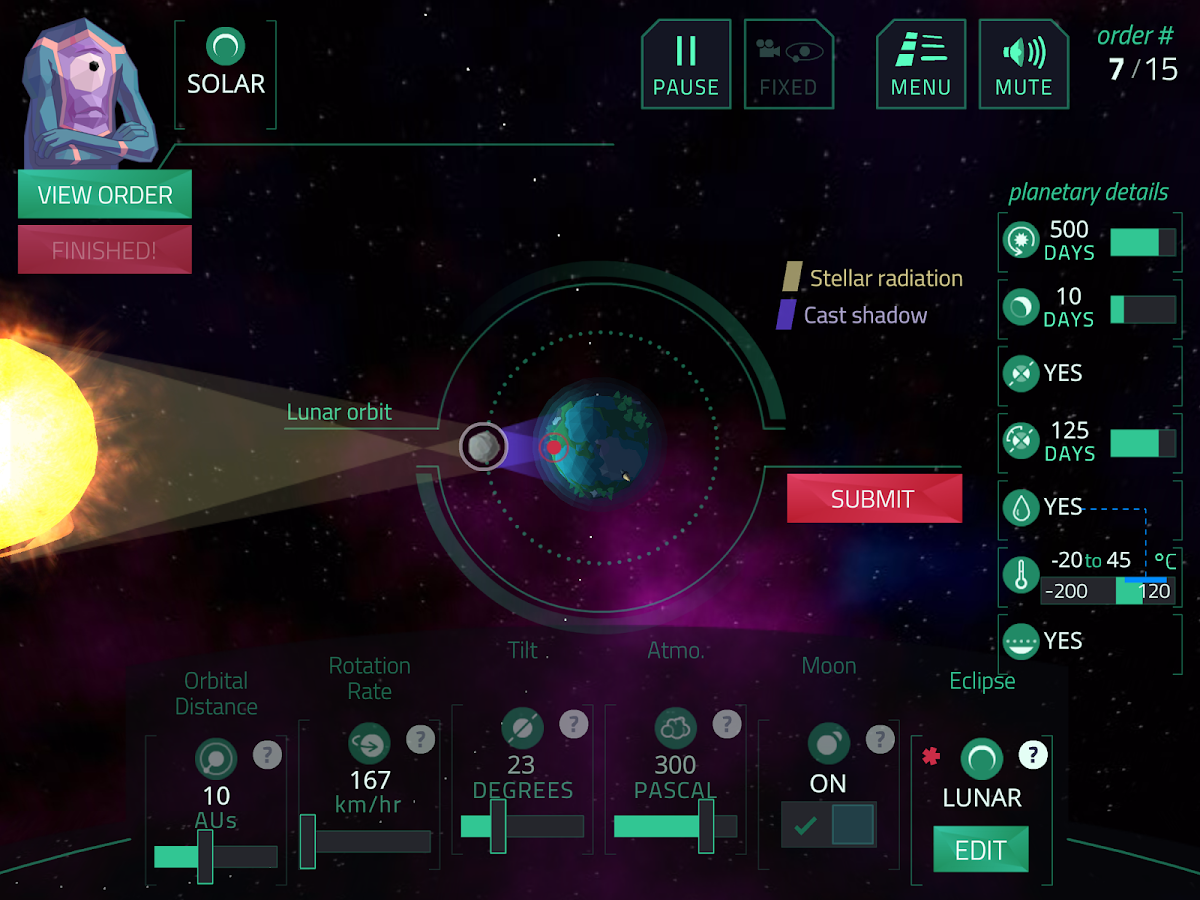 Planet Mechanic EDU- screenshot
