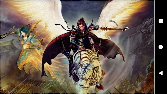 Fantasy Battle Backgrounds - náhled