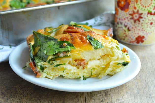 Crescent Roll Breakfast Bake Recipe