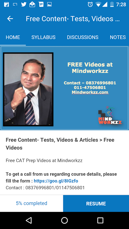 Mindworkzz- screenshot