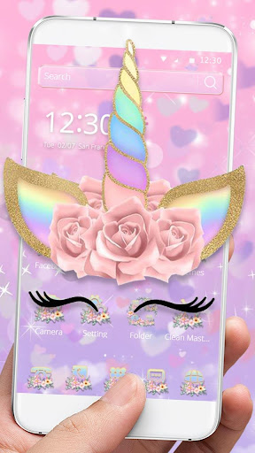 Theme Flower Unicorn Dream Apk 1