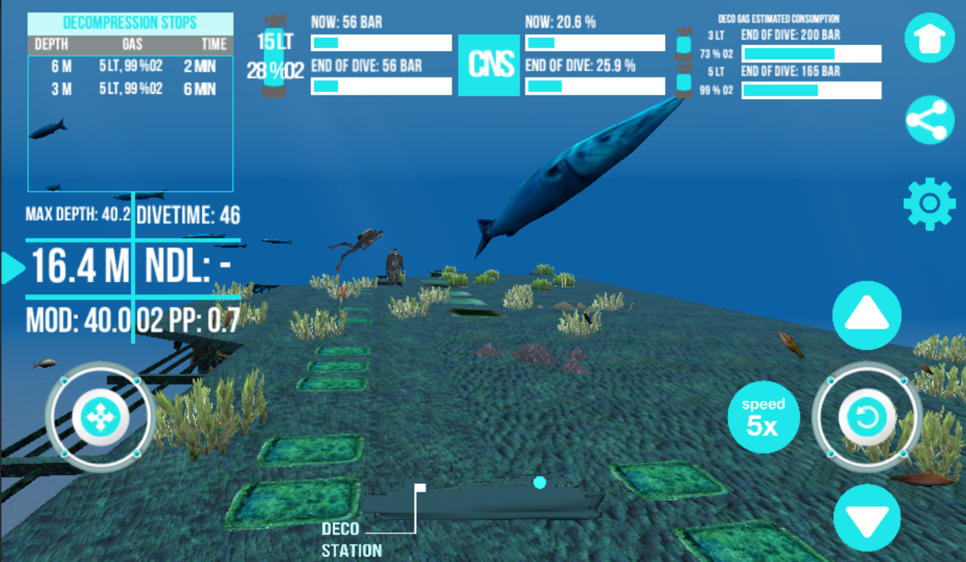 Scuba Dive Simulator:Zenobia- screenshot