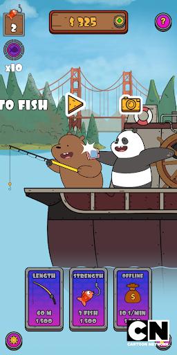 We Bare Bears: Crazy Fishing 1.0.4-google screenshots 1