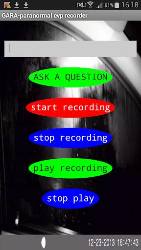 GARA-paranormal E.V.P.recorder
