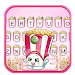 Cute Popcorn Keyboard Theme icon