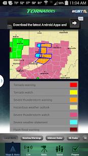 Tornadoes WLWT 5 Cincinnati - screenshot thumbnail