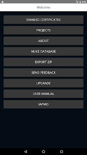 Pressure Test App - náhled