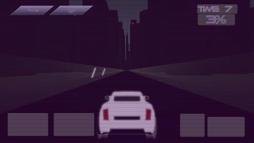 Synthwave Driver 3D - Retrowave Racing Game apkmind screenshots 3