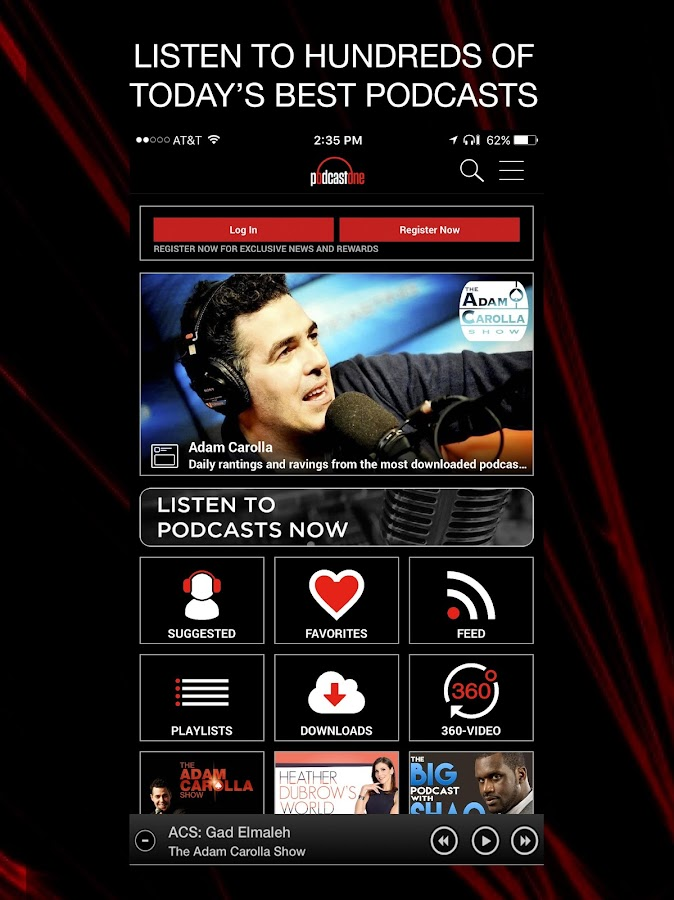 PodcastOne | One For Podcasts- screenshot