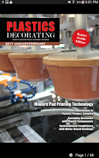 Plastics Decorating Magazine- screenshot thumbnail