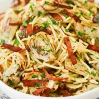 Spaghetti with Artichokes