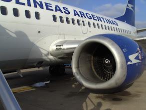 Photo: Flight to El Calafate