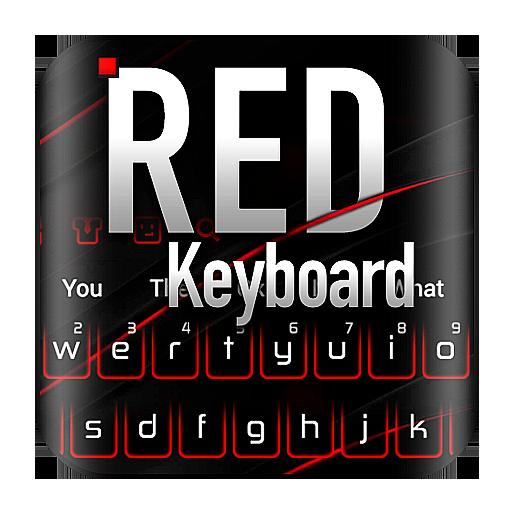 Black Red Keyboard