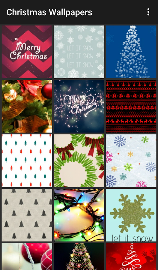 Christmas Wallpapers- screenshot