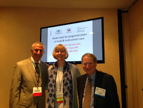 Photo: Novel Approaches To Prognostication in H&N Cancer. 5th International Federation Of Head And Neck Oncologic Societies New York City July 26, 2014 Louise Davies, MD Associate Professor Of Surgery, Geisel School Of Medicine, Dartmouth-Hitchcock Medical Center, VA Medical Center White River Junction, VT Eric (Rocky) Feuer, PhD Chief Statistical Methodology and Applications Branch, National Cancer Institute Jay Piccirillo, MD Professor and Vice Chair for Research, Washington University School of Medicine, Barnes-Jewish Hospital, St. Louis Missouri