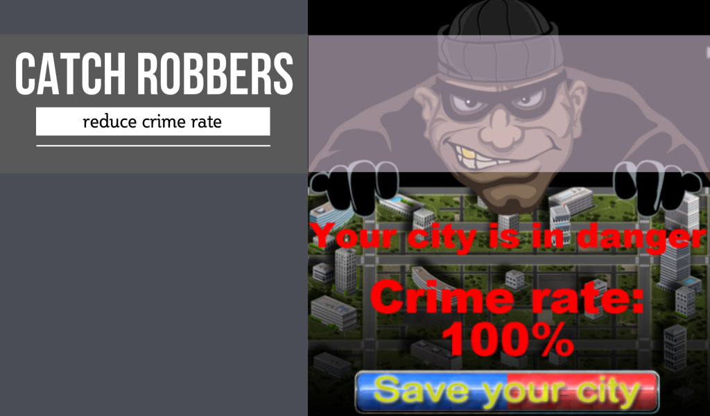 Cop and Robbers - Free- screenshot