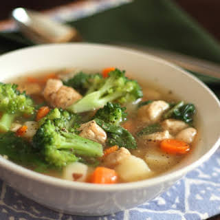 Chicken Vegetable Soup With Potatoes Recipes.