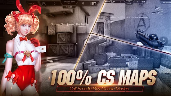 play Crisis Action: NO CA NO FPS on pc & mac