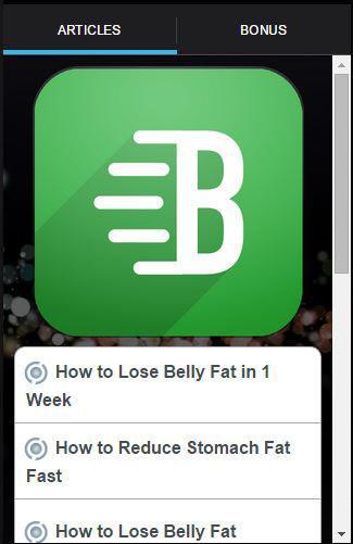 如何失去腹部脂肪快速